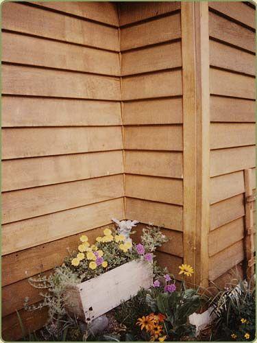 Best 25 cedar stain ideas on pinterest cedar shutters - How to stain exterior wood siding ...