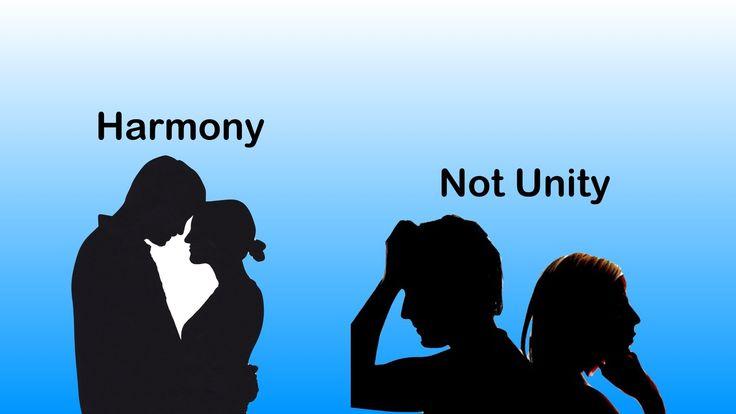 Visions of the Kingdom Age No 15 'Harmony Not Unity'