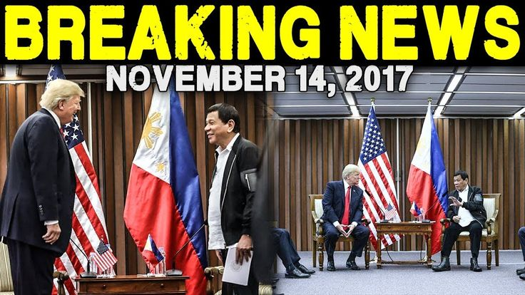 BREAKING NEWS TODAY NOVEMBER 14 2017 PRES. DUTERTE l DONALD TRUMP l ASEA...