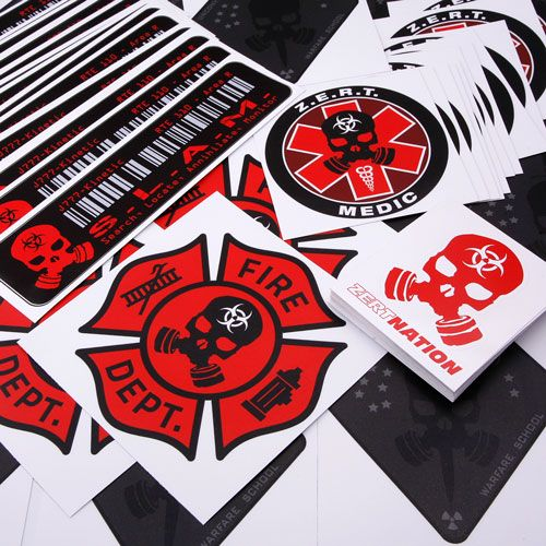Z e r t is all about being prepared for any kind of disaster http · custom stickersdie cuttingkind ofprinteddecalstagspersonalized