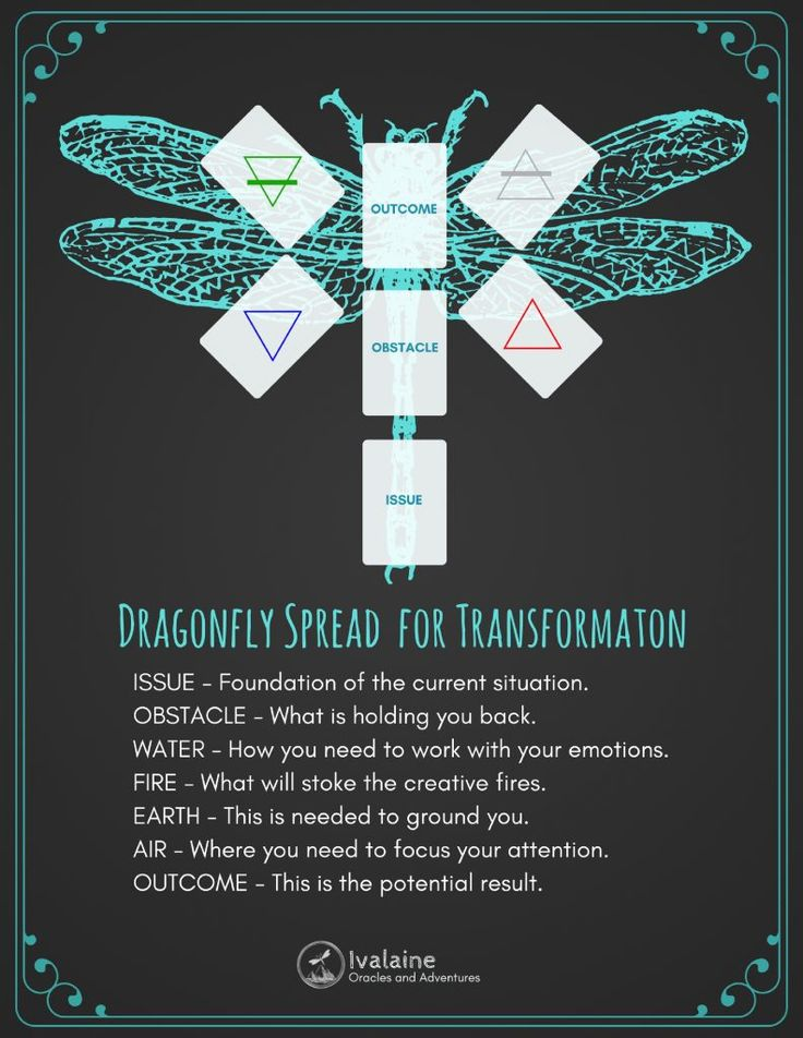 Dragonfly Spread for Transformation