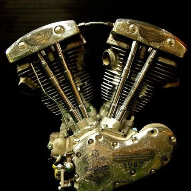 Shovelhead with a 1966 Pan Head Bottom End (factory stock) They came that way.