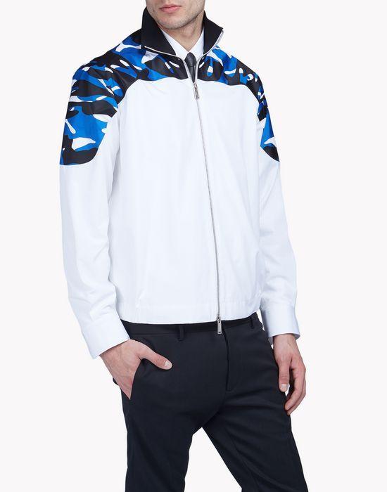 camouflage-trimmed sweat jacket ropa de abrigo Hombre Dsquared2