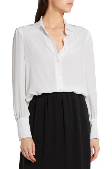Prada - Silk Crepe De Chine Shirt - SALE20 at Checkout for an extra 20% off
