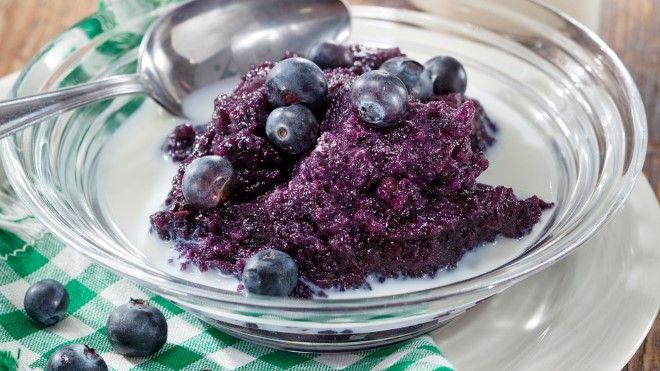 Blueberry Rye Porridge