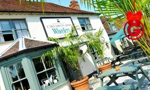 Groupon - Berkshire: 1 or 2 Nights For Two With Breakfast and Three-Course Dinner from £99 at The Carnarvon Arms in Newbury. Groupon deal price: £99