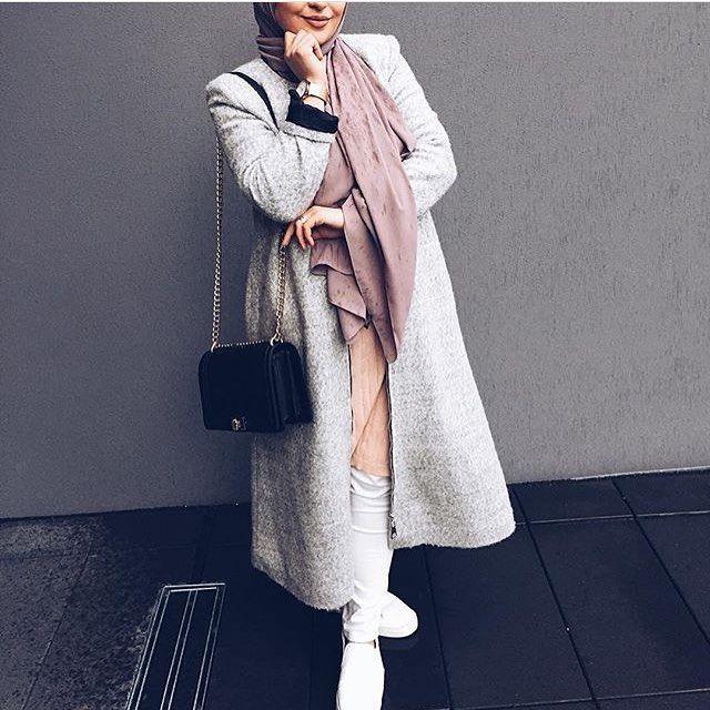 Hijabi street style /Amaliah.co.uk