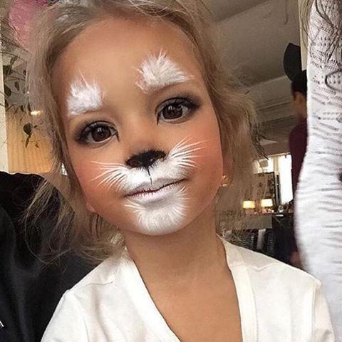 Bildergebnis Fur Katze Schminken Halloween Halloween Makeup