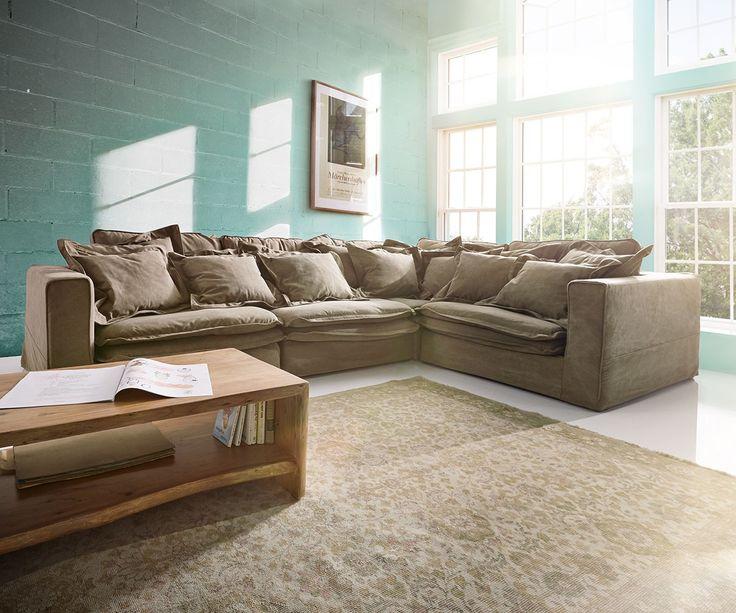 die besten 25 schlafsofa leder ideen auf pinterest. Black Bedroom Furniture Sets. Home Design Ideas