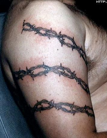 26 best Body Art: Barbed Wire & Thorns images on Pinterest | Barbed ...