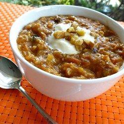 Quinoa Frühstück mit Apfeln, Ananas und Möhren (vegan)