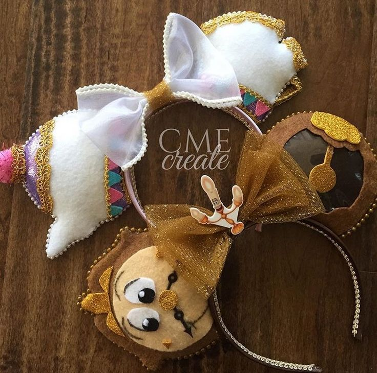 By far the best mouse ears that are beauty and the beast themed.