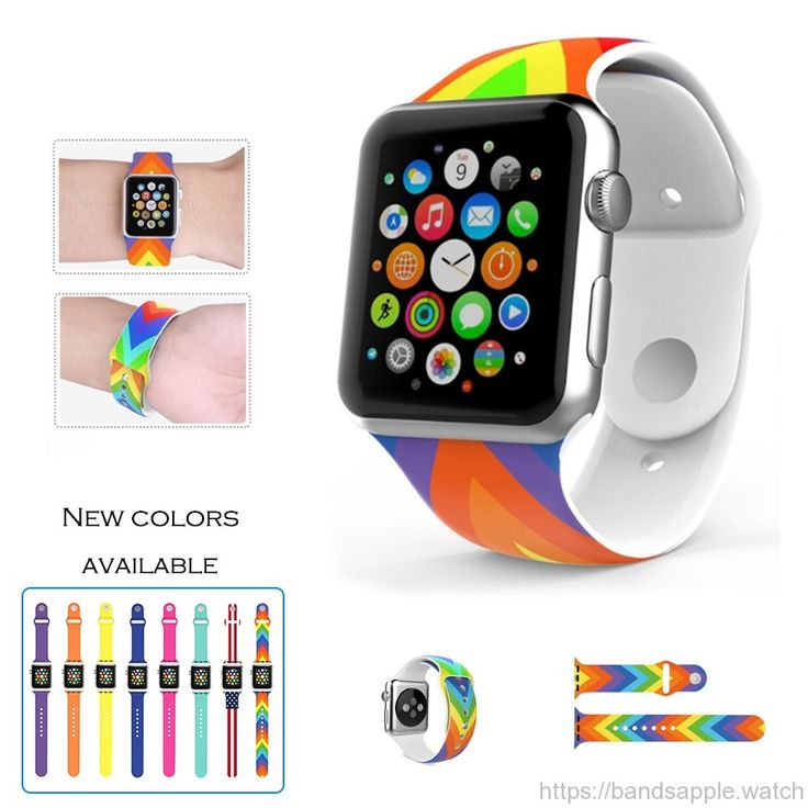 New design Wrist pin-and-tuck Closure Silicone Colorful Band for Apple Watch Series 1 & 2 //Price: $10.60 & FREE Shipping //     #watchband #strap #bracelet #nike #sport #rubber #fluoroelatromer #applewatch #applewatchsport #applewatchband