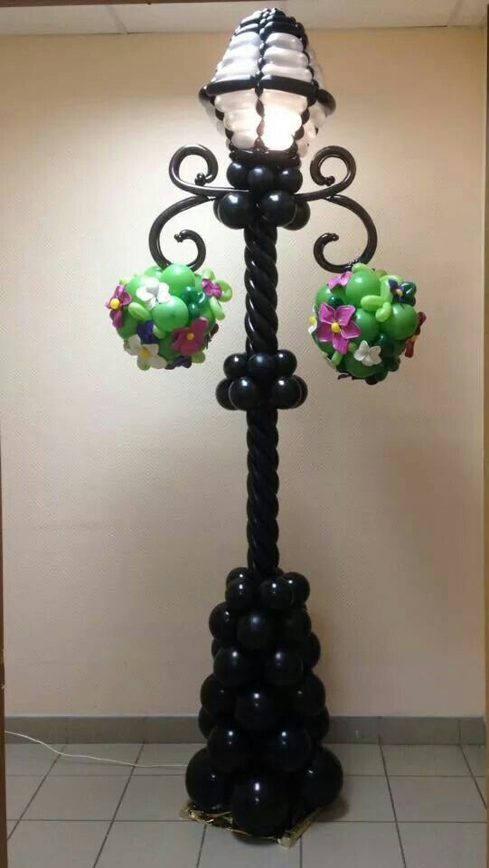 Love It! Has everything - round and twister balloons, fantasy flowers and it's lit...
