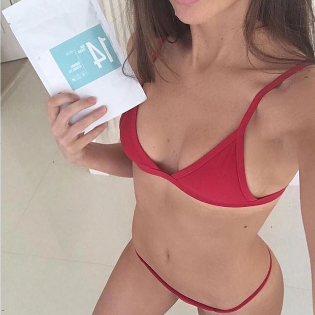 Join the #smtsquad and #beatthebloat with our 14 Day Teatox ☕️ babe @steph_elizabeth loves sipping on our morning cleanse, it's the perfect way to start your day ⭐️