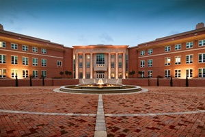 Shelby Hall is the new, hightech home to the College of Engineering and the School of Computing. U.S. Sen. Richard Shelby was instrumental in securing federal support for this project.