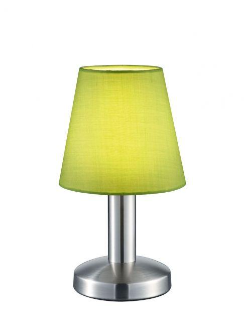 599600115 Trio - stolová dotyková lampa - zelená - 240mm