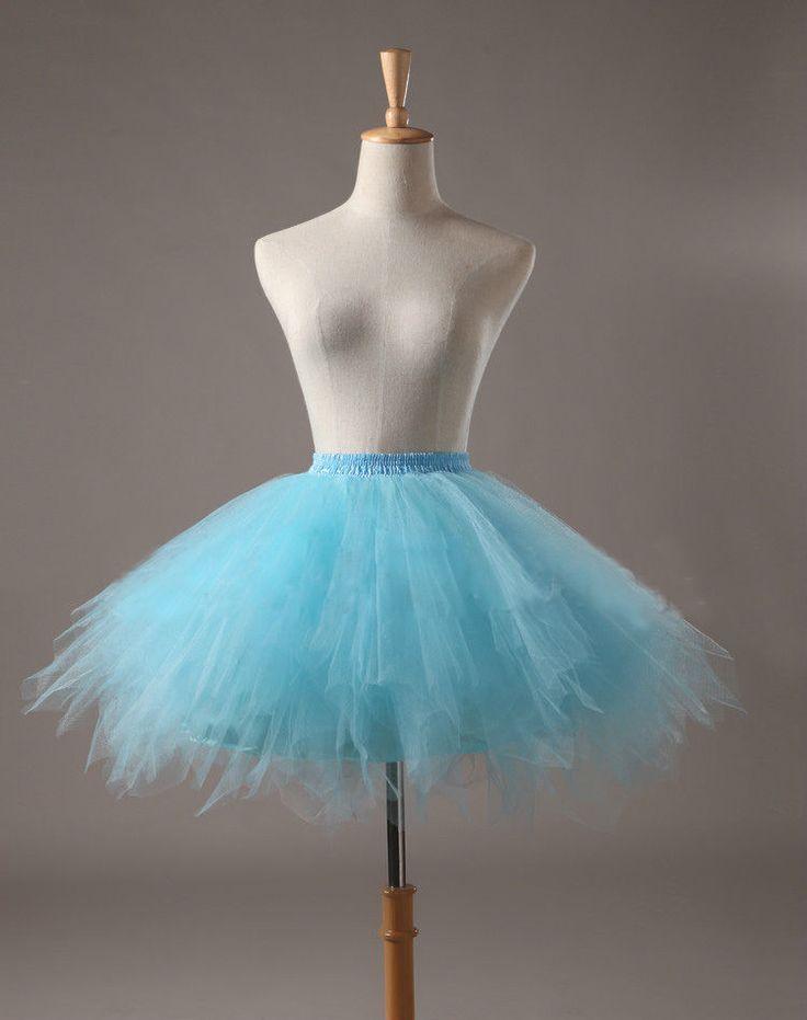 Petticoat Junggesellenabschied Tütü Tüllrock Ballett Tutu Ballettrock Neu Rock | eBay
