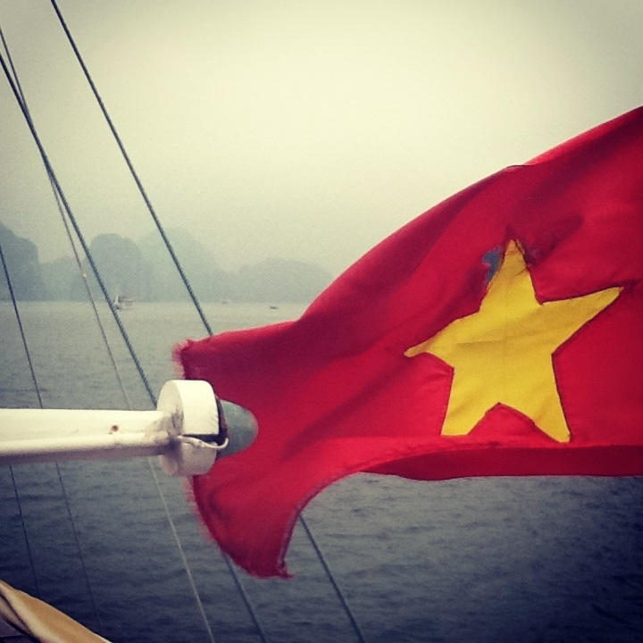 Vietnam along the Halong Bay cruise- Birthday 2012