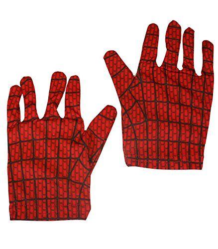 Rubies Pair of Spiderman Gloves Costume Accessories [35531] @ niftywarehouse.com #NiftyWarehouse #Spiderman #Marvel #ComicBooks #TheAvengers #Avengers #Comics