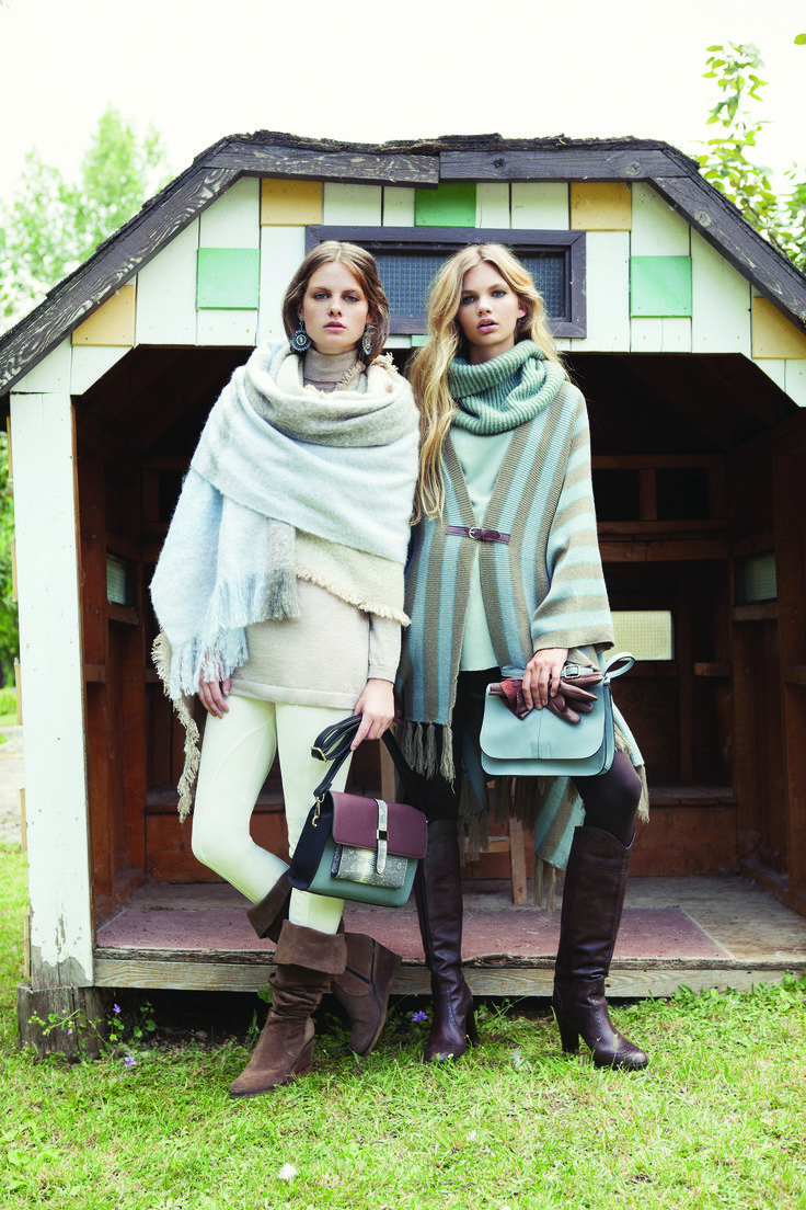 Bring out the luxe of the countryside. Achilleas Accessories Fall Winter 2015-2016 campaign