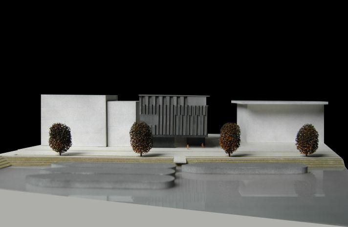 CIVIC architects - Harbor Studio Block - Amsterdam   Model