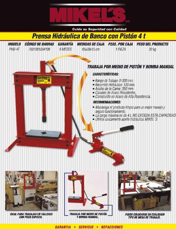 M s de 25 ideas incre bles sobre prensa hidraulica en - Muebles de chapa metalica ...