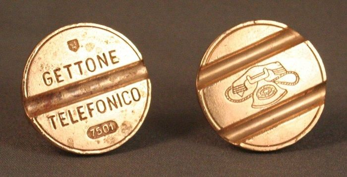 Gettone Telefonico - Monete di Valore