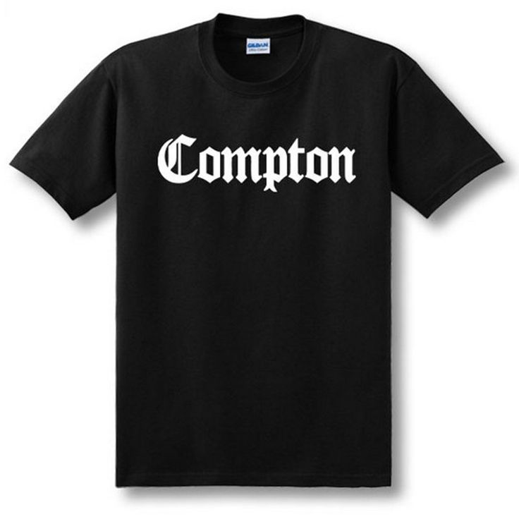 >> Click to Buy << Hot new COMPTON short sleeve T-shirt men and women O-Neck cotton t shirt fashion loose t-shirt men USA size Top Tees #Affiliate