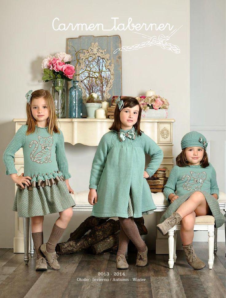 Вязаная мода для малышей: Вязаная коллекция в стиле шебби шик - винтаж.