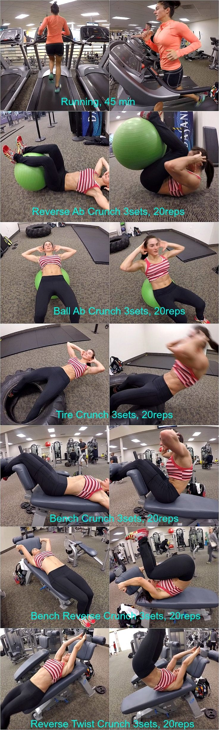 10 Weeks To Fit-Day 20: Active Rest Running/Abs
