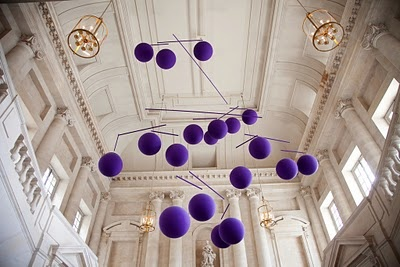 Add bold accents against a white groundModern Art, Favorite Places, Purple, Xavier Veilhan, Art Exhibitions, Contemporary Art, Art Installations, Design Blog, Mobile