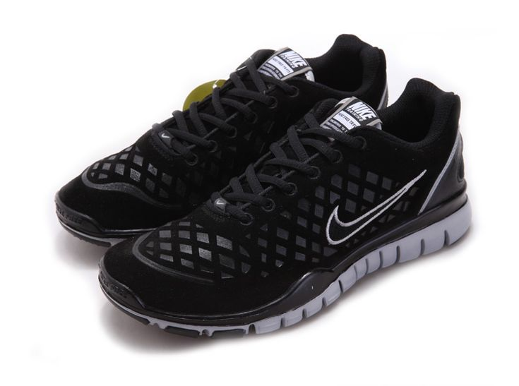 Cheap Nike Free 2012 Mens Running Shoes Wool Skin For Winter On Sale Black  White