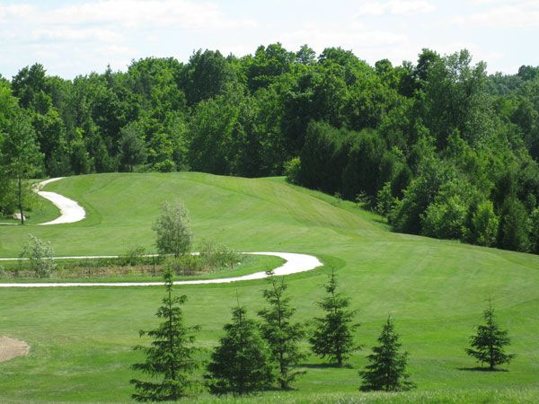 The views at Lanark Timber Run Golf Course are spectacular from their elevated tees and greens.