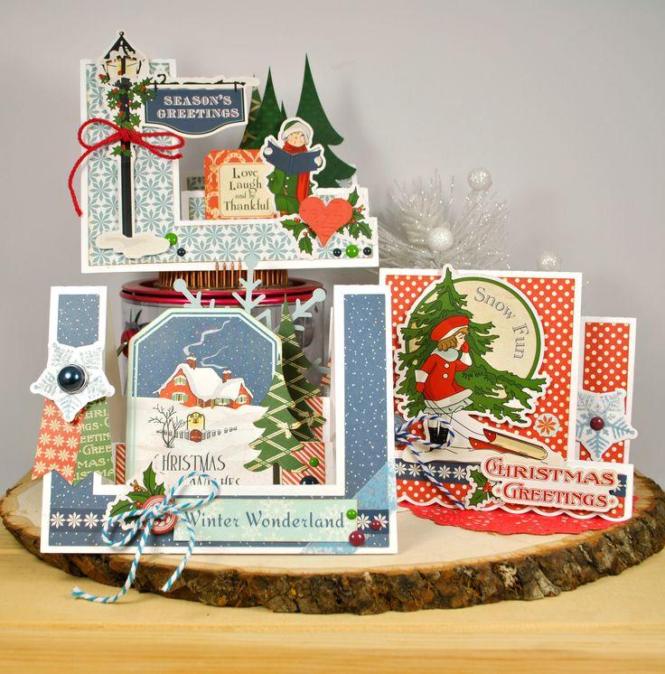 Carta Bella Christmas Wonderland Step Cards - Scrapbook.com
