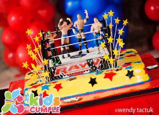 Fotos Cumpleaños Temativo Lucha Libre de Milvio