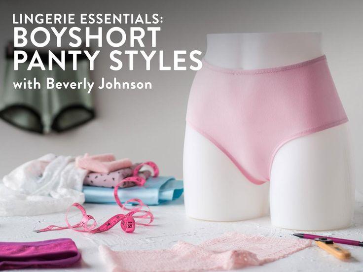 Lingerie Essentials: Boyshort Panty Styles
