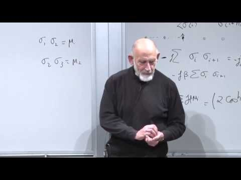 Statistical Mechanics Lecture 9 - YouTube