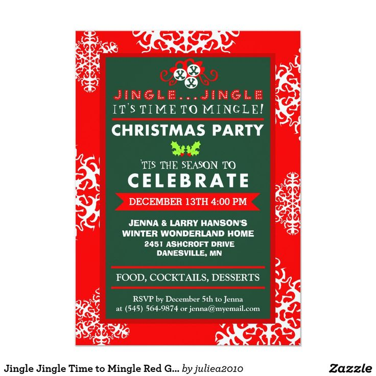 28 best Christmas Party Invitations images on Pinterest | Cards ...