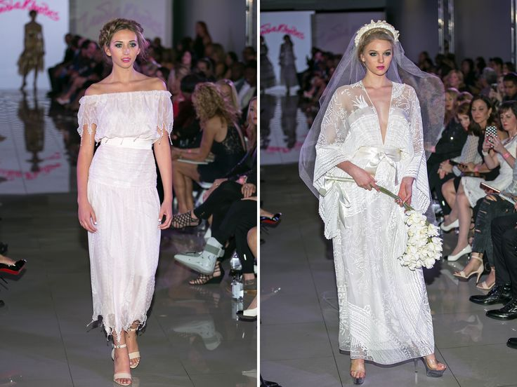 Iconic fashion designer Zandra Rhodes opened the fashion event with her bold signature style. shar.es/1UBMs2