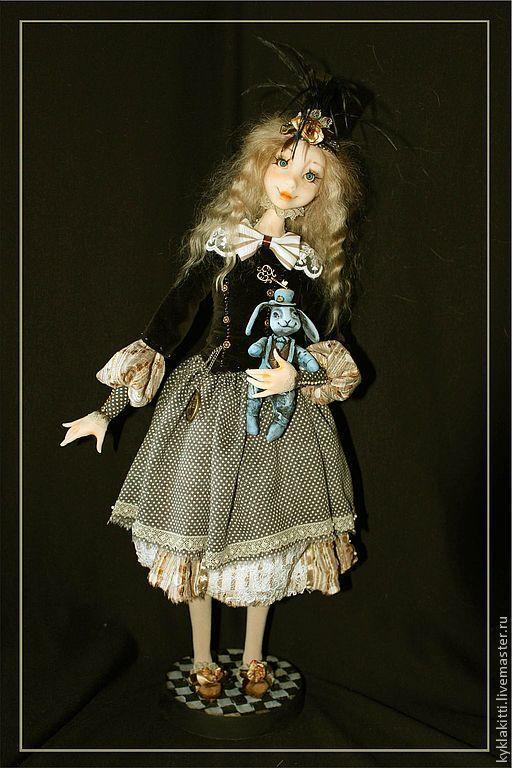 Купить Алиса и Мартин - алиса в стране чудес, алиса, кролик, кролик игрушка, сказочные персонажи