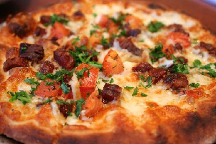 Calabrian Pizza Recipe from The Italian Kitchen