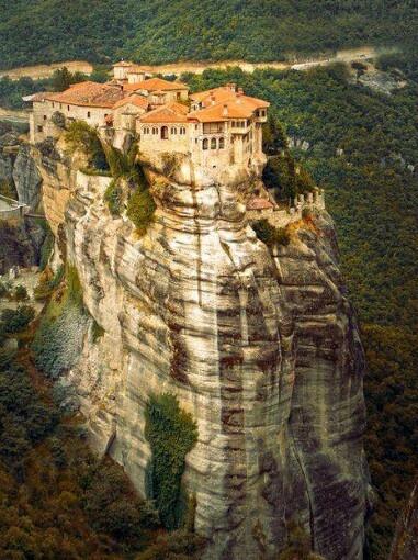 Greece  . Meteora