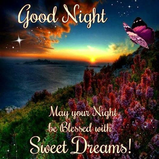 Good Night, Sweet Dreams good night good night quotes good night images good night blessings