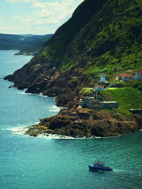 St. John's, Newfoundland. I can't wait to be here!