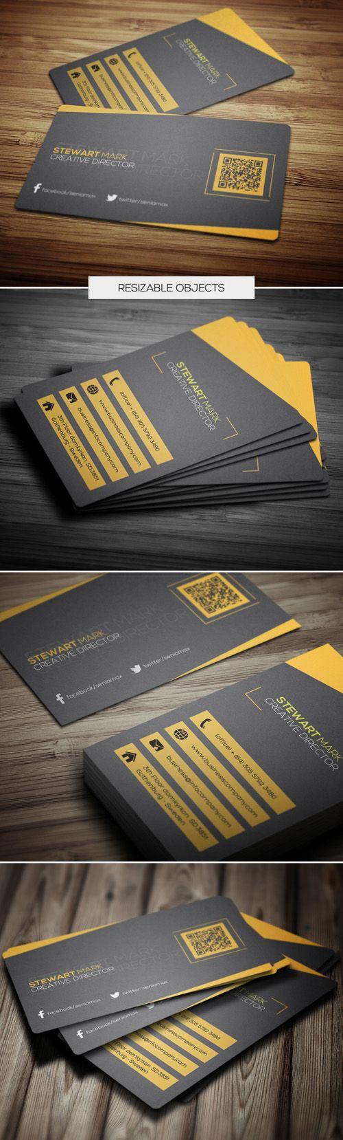 Creative Business Card Template #businesscards #businesscardsdesign #corporatebusinesscards
