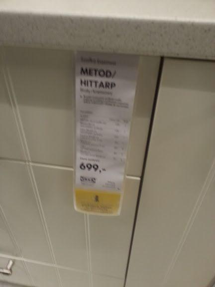 system Metod Hittarp  kuchnia IKEA  różne takie   -> Kuchnia Hittarp Ikea