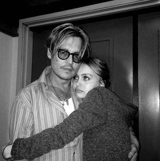 Johnny Depp et Lily-Rose DeppPhoto : Instagram de Lily-Rose Depp @lilyrose_depp - Vogue Paris