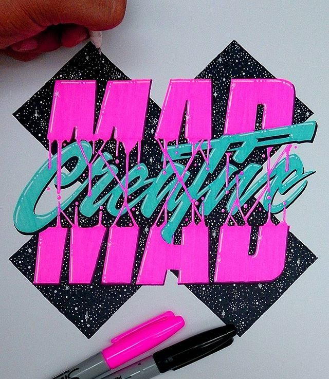 WEBSTA @ el_juantastico - Will I ever get tired of neon sharpies?? I don't think so... #creative #type #typography #thedailytype #letras  #thedesigntip #designspiration #goodtype #calligritype #typespire #typegang #typostrate #artist #illustration #graphicart #drawing #sketch #sharpie #neon #inspiration  #tipografía #design#ilovetype #arte #eljuantastico
