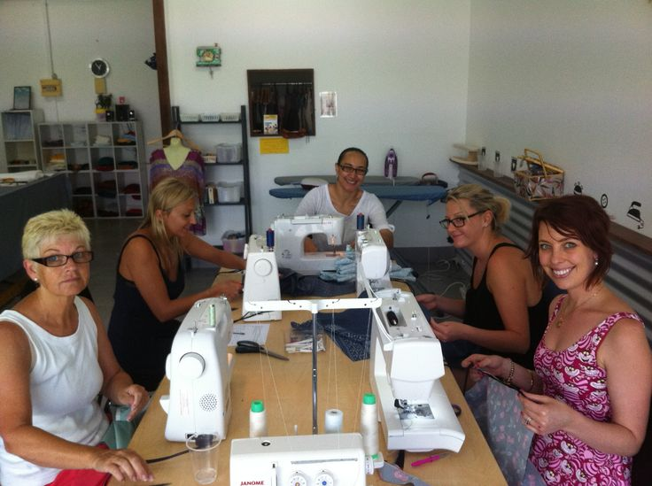 Group Beginners Sewing Class!
